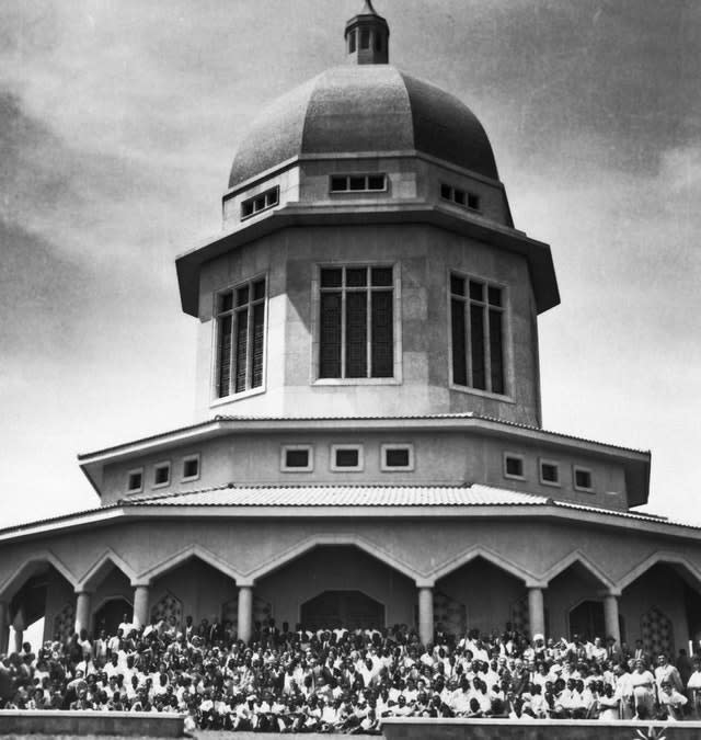 inauguration ceremony of the Bahai House of Worship in Kampala