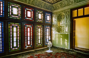 The room in the House of the Báb where the Báb declared His Mission in Shíráz Iran before its destruction in 1979