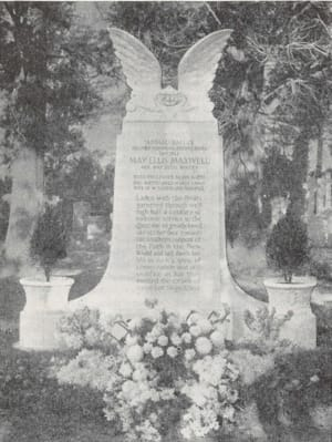The Grave of May Maxwell in Buenos Aires / Могила Мэй Максвелл